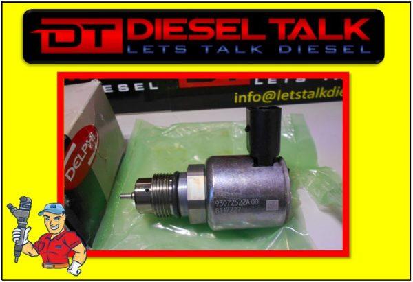 9307Z522A00 DELPHI COMMON RAIL PRESSURE REGULATOR. GENUINE DELPHI PART