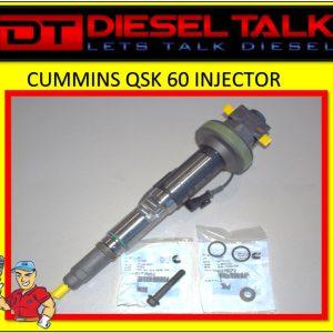 4964173 CUMMINS TIER 2 QSK 60 MODULAR COMMON RAIL DIESEL INJECTOR. BRAND NEW GENUINE CUMMINS
