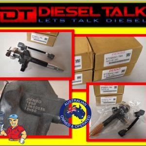 095000-7850 DENSO COMMON RAIL DIESEL INJECTOR. MAZDA RANGE RF5C-13-H50