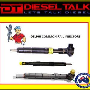 DELPHI COMMON RAIL INJECTOR. SSANGYONG D27DT EURO 3. A6650170321