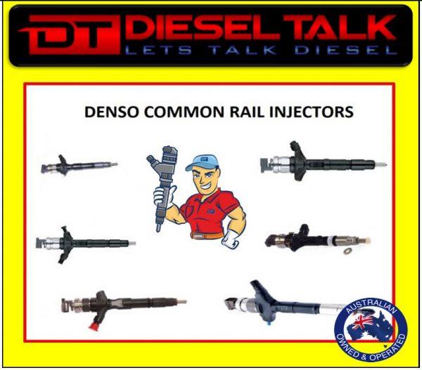 DENSO COMMON RAIL INJECTOR. FORD TRANSIT. DCRI107060